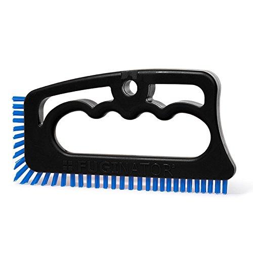 Fugenbürste Fuginator Master Handbürste Universalbürste Reinigungsbürste für Bad, Küche und Haushalt, Farbe:schwarz / blau