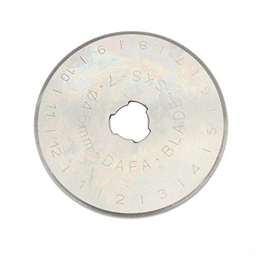 Preisvergleich Produktbild Generic yc-uk2-160104-130 < 1 & 5870 * 1 > fiskarsdisc Klingen Cutter Ersatz 5 Stück Disc Klingen 45 mm Rotary für alle Olfa / DAFA / Fiskars 5 Stück 45 mm