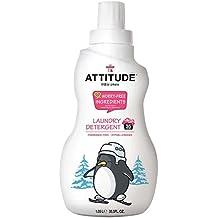 ATTITUDE, Eco-Baby, Servicio de Lavandería Detergente Sin Perfume, el 35,5 onzas líquidas (1.05 l)