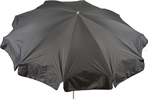 beo Parasol Rond Ø 240 cm étanche, Gris