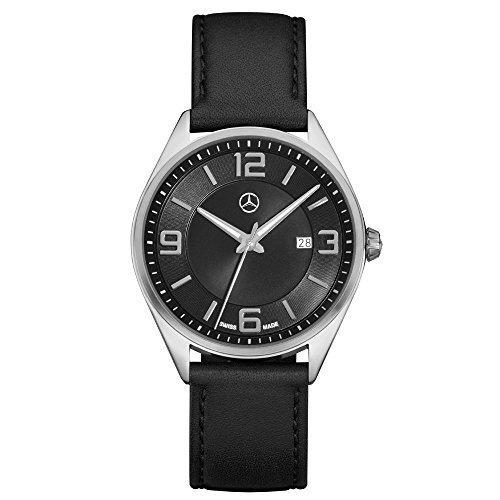 Mercedes Benz Original Herren Armbanduhr 'Elegant Basic'