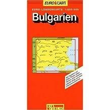 RV Euro-Länderkarte 1:800 000 Bulgarien