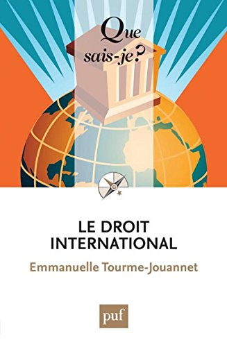 Le droit international par Emmanuelle Tourme-Jouannet