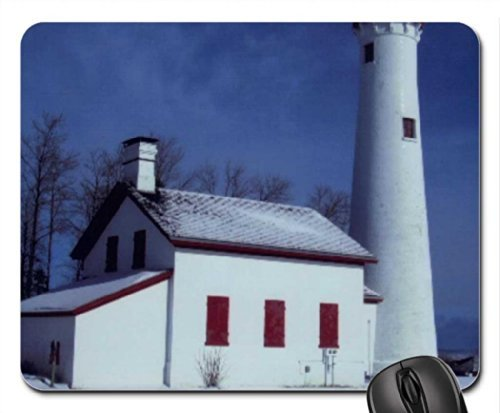 STURGEON POINT LIGHTHOUSE Mouse Pad, Mousepad (Lighthouses Mouse Pad) (Sturgeon Point)