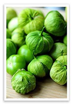 MediterranTree Bio Mexikanische Husk Tomate Tomatillo 50+ Samen Salsa Verde Essential GMO (Salsa Tomate Samen)