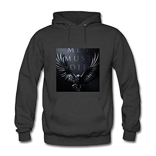 Womens Hoodies Game of Thrones Man Must Die Sweatshirts XXL
