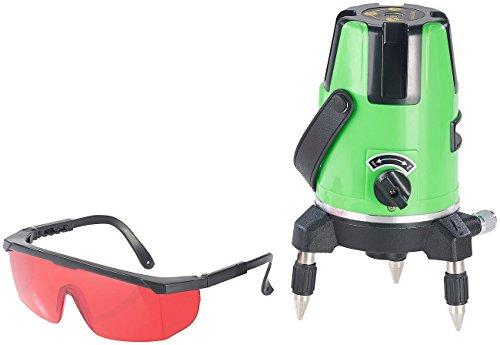 : Kreuzlinien-Laser, selbstnivellierend, vertikal & horizontal, drehbar (Linienlaser) ()