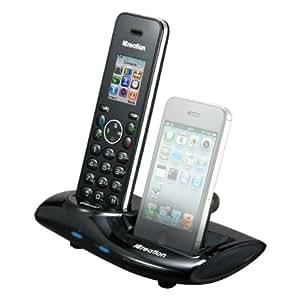 iCreation i650 Téléphone sans fil DECT Bluetooth Noir