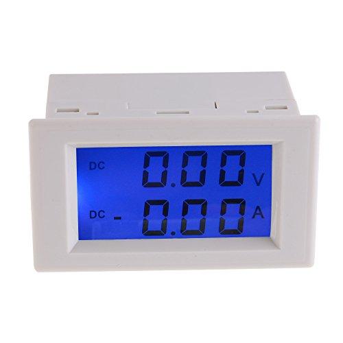 Amperemeter, Digitale DC 0-199.9V 10A Amperemeter Voltmeter LCD Volt Ampere Panel Meter Lcd-panel-meter