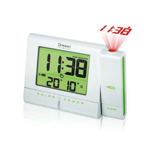 Oregon Scientific RM336PES - Reloj Despertador +Eco, con proyector