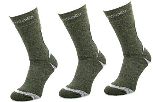 COMODO® STE - Set de 3 TREKKING EXTREME SOCKS (Chaussettes de randonnée Nordic Walking Alpinisme)
