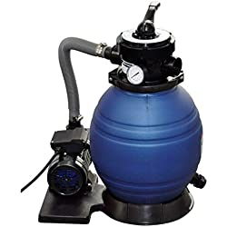 Festnight- Pompe à Filtre à Sable 400 W 11000 l/h Pompes pour bassins d'agrément