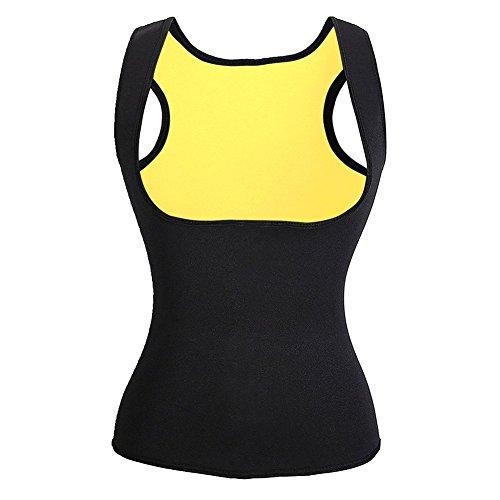 Sanduhr Taillenkorsett (Saunaanzüge für Damen Corsage Korsett Bauchweg Training Taillenkorsett abnehmen Shirt Taillenformer Fitness Taillenmieder für Gewicht Loss, Figurformender Damen-Body Gewichtsreduzierung)