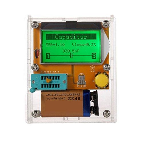 Uzinb LCD Display ESR Transistor Tester Multifunktionale Widerstand Inductor Kondensator SCR mos Rohr Triode Transistor-test