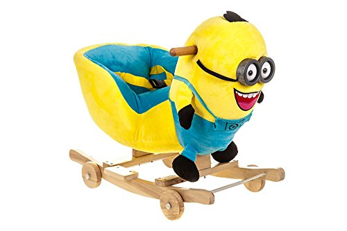 Costello� HQ MINION BABY CHILDREN KID SOFT MUSICAL ROCKING HORSE ANIMAL TODDLER CHAIR INFANT ROCKER TOY ?FREE NEXT DAY DELIVERY?SAME DAY DISPATCH BEFORE 2PM?