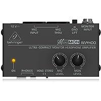 Behringer MA400 - Amplificador de auriculares de monitor ultra compacto
