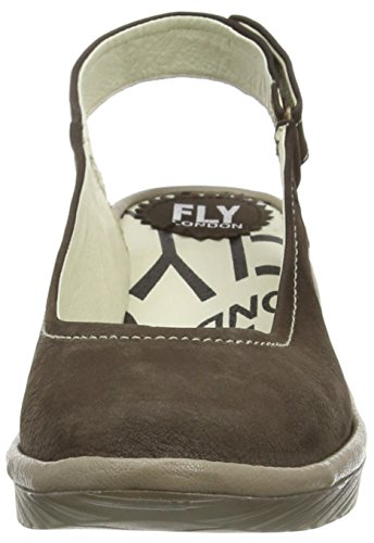 Fly LondonPYPE - Decolleté aperte sul retro con tacco donna Beige (Beige (Ground/Mushroom))