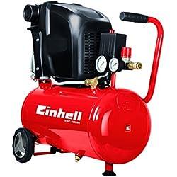Einhell TE-AC 230/24 - Compresor + Manguera de compresor (10m, con compresores de 6 mm)