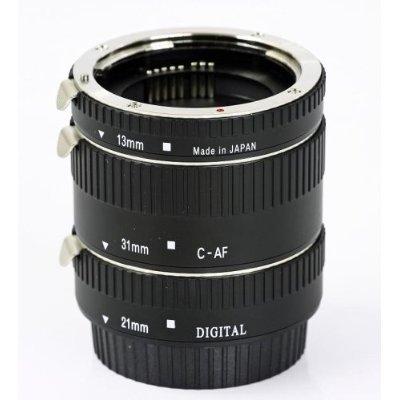 Automatik Zwischenringe 3-teilig 31mm, 21mm & 13mm für Makrofotographie passend