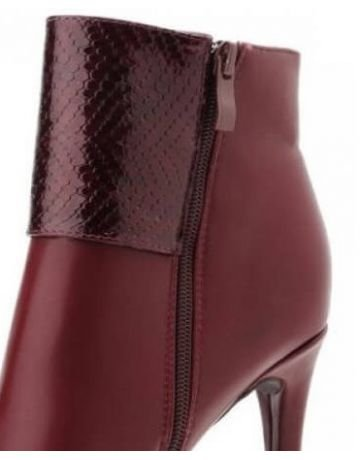 BOTTINES BI MATIERE - MOOW Bordeaux