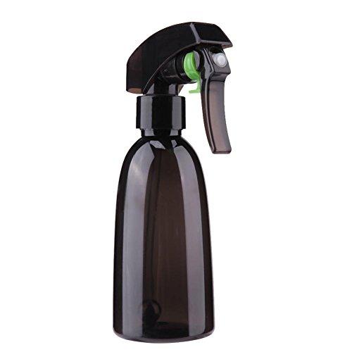 Demiawaking 200ml bottigliette spray vuote per capelli nebulizzatore per capelli taglio pro salon bottiglie riutilizzabile per parrucchiere barbiere strumenti spray per lo styling (marrone)