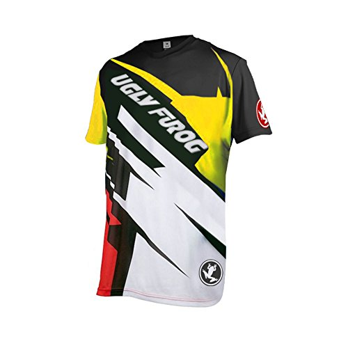 Uglyfrog 03 Designs Blocks Motocross/Downhill Jersey kurze Ärmel -