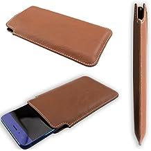 """caseroxx funda Bolsa estilo """"business"""" Elephone M1 - Funda protectora para el smartphone (estuche en marrón)"""