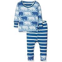 Hatley Organic Cotton Baby Pyjama Set, Conjuntos de Pijama para Bebés