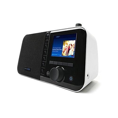 Grace Digital INC Mondo + Weiß-Internet Radio, Bluetooth und Chromecast