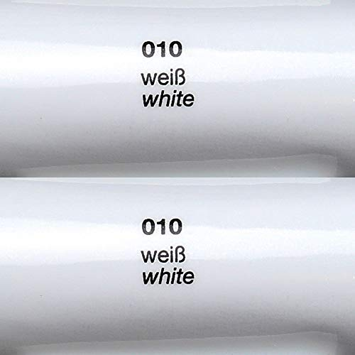 Oracal 621 FOLIEN SET – 010 weiss – Klebefolie – 5m x 63cm – Folie – Moebelfolie – Plotterfolie – Selbstklebend (Folien Set inkl. Rapid Teck® Montage Rakel) - 3