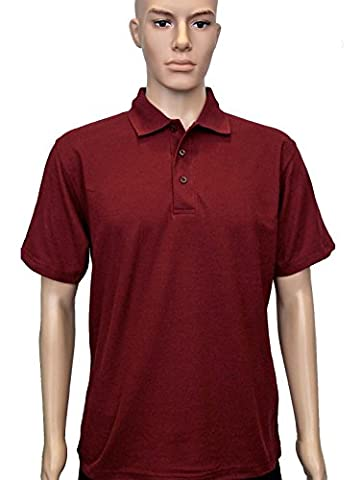 Uneek clothing - Polo - Polo - Col Polo - Manches Courtes - Homme - Rouge - XX-Large