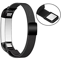 Fitbit Alta HR band , HARRYSTORE Magnetic Milanese Wrist Band Adjustable Stainless Replacement Accessories Bracelet for Fitbit Alta HR Watch