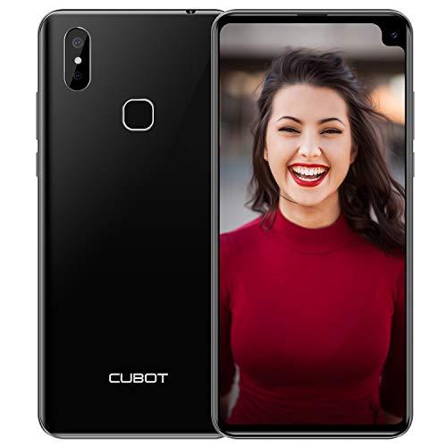 CUBOT Max 2 Dual-SIM 4G Smartphone ohne Vertrag 6,8 Zoll 4GRAM+64GROM, Android 9.0 Oreo, 5000mAh Akku Handy Ohne Vertrag, Face ID, GPS(Schwarz)