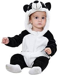 Kidsform Bébé Combinaison Unisexe Grenouillères Animal Pyjama Dors Bien Déguisement Costume Cartoon Mignonne Barboteuse