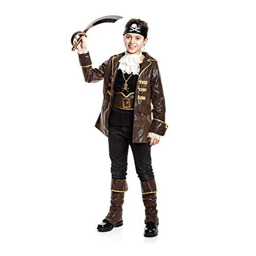 Kostümplanet® Piraten-Kostüm Jungen Pirat Kinder Kostüm Fasching-Kostüm Größe 152