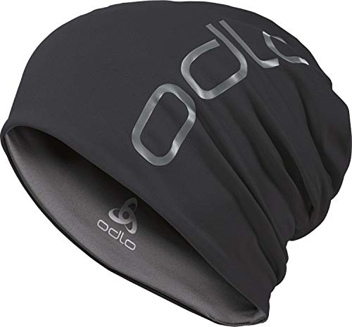 Odlo Ceramiwarm Revers Mütze, Black Steel Grey