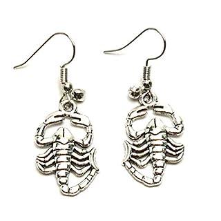 Fashion Trendy Scorpio Dangle Fish Hook Earrings for Women / AZEASC101-ASL