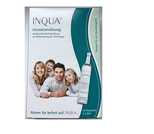 Inqua Inhalationslösung (20 Ampullen á 2.5 ml für 20 Anwendungen)
