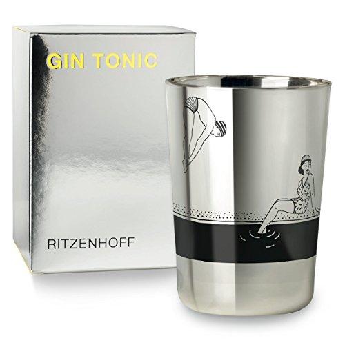 RITZENHOFF Next Gin Design Ginglas, Gin Tonic, Becher, Schnaps, Glas, Frühjahr 2017, Studiopepe, 250 ml, 3530008