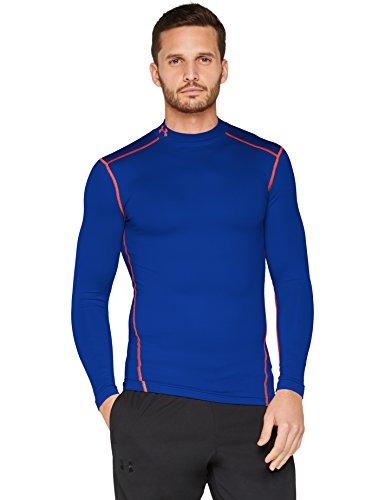 Under Armour Herren UA CG Armour Mock Fitness-Sweatshirts, Cobalt, S