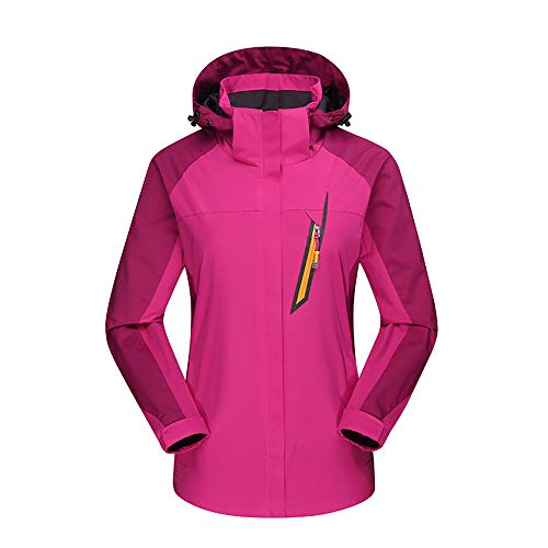Frauen im Freien Wasserdichte atmungsaktive Mantel Outfit Zwei -