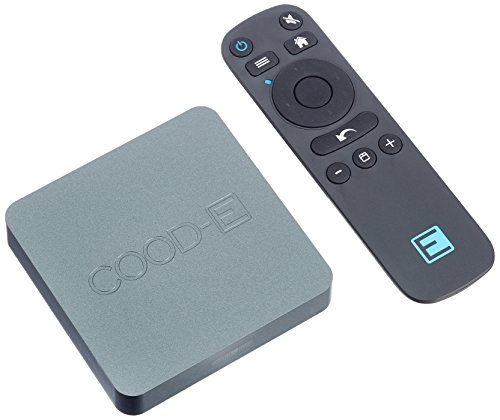 COOD-E 8719173001104  CETV4K Multimedia-Server Android 7.1 Schwarz