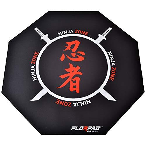 Florpad - Ninja - Tapete Protector para el Piso y la Alfombra...