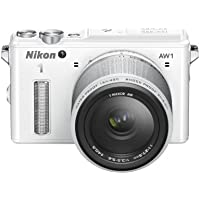 Nikon 1 AW1 Systemkamera (14,2 Megapixel, 7,6 cm (3 Zoll) TFT-Display, Full HD, HDMI, wasserdicht) Kit inkl. 11-27,5mm Objektiv weiß