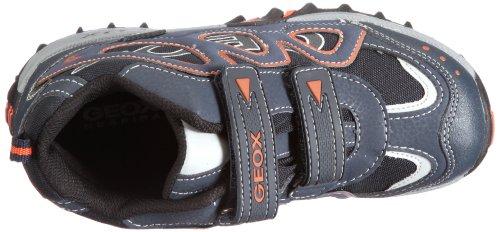 Geox new Canyon wpf J13A0A01450C0017 Jungen Halbschuhe Blau/Navy/Orange