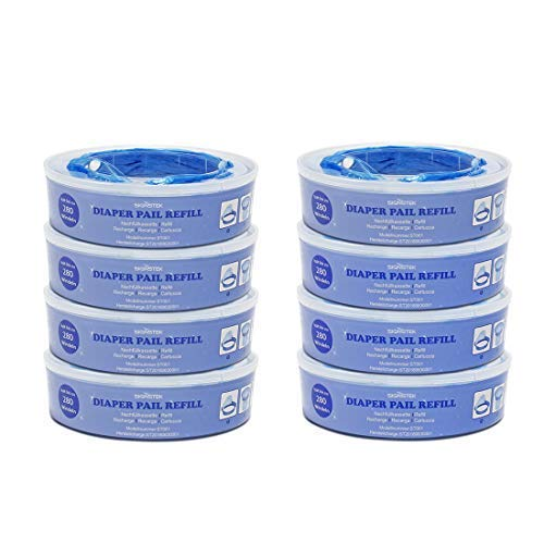 Signstek cassette per Angelcare sistema di smaltimento pannolini (8-Pezzi)