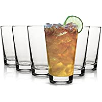 Vasos de agua Tivoli Cairo - 395 ml - Set de 6 - Vasos de alta calidad - Apto para lavavajillas - Vasos de cristal