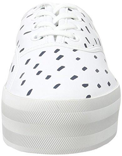 Lacoste L!VE - Sneaker - Femme blanc (WHT/NVY)