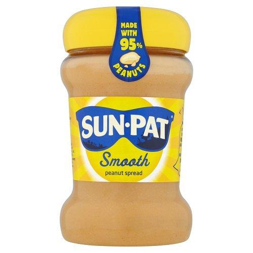 Sun-Pat Original Smooth Peanut Butter 340g - Fein cremige Erdnussbutter Pat Butter