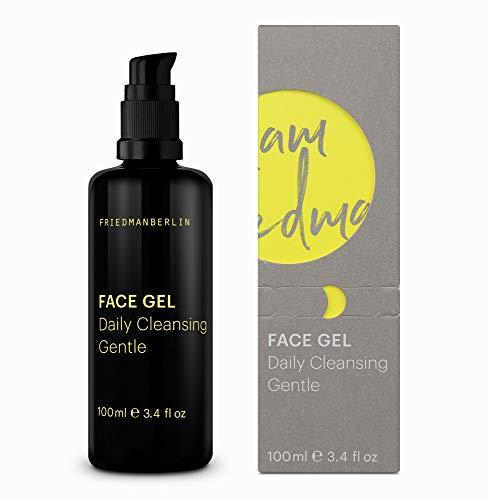 Gesichtsreinigung für Männer - FRIEDMANBERLIN | Reinigt die Haut und versorgt mit Feuchtigkeit | Gesichtspflege für Herren | Inhalt 100ml Reinigungsgel